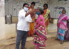 ரெட்டம்பேடு ஊராட்சி மன்ற பொதுமக்களுக்கு கபசுரக் குடிநீர் வழங்கப்பட்டது